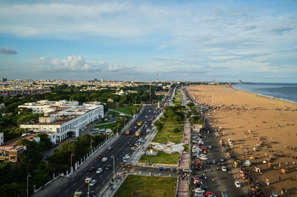 Chennai cityscape.