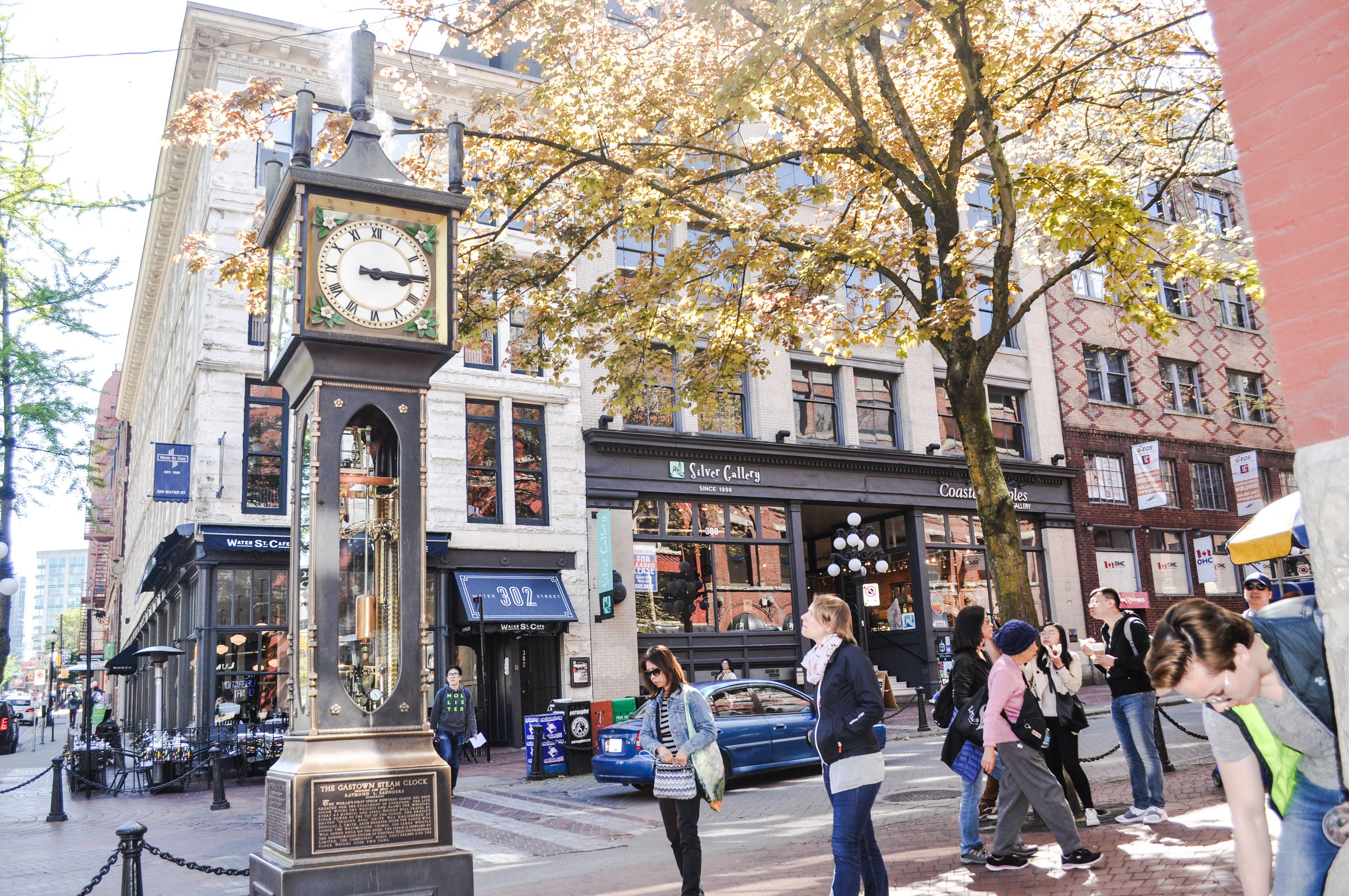 Gastown, a popular shopping destination