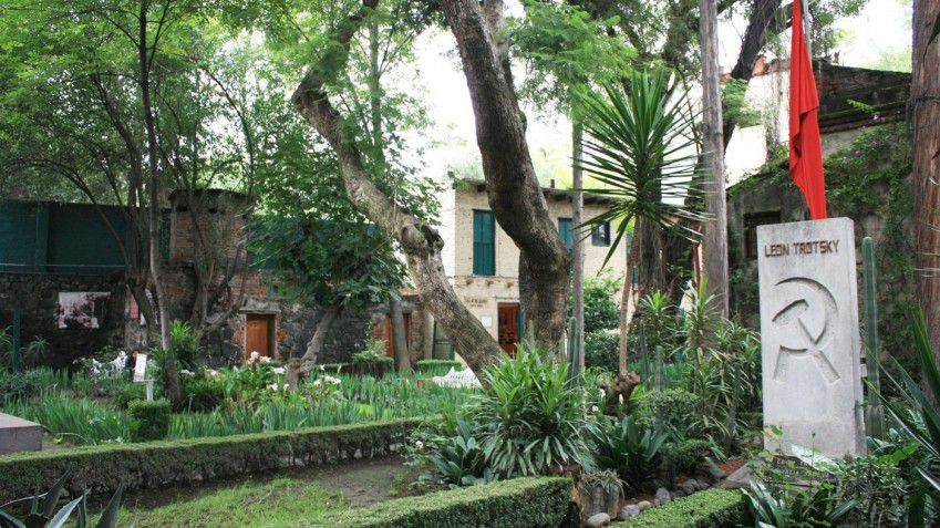 Greenery at Leon Trotsky Museum in Coyoacan