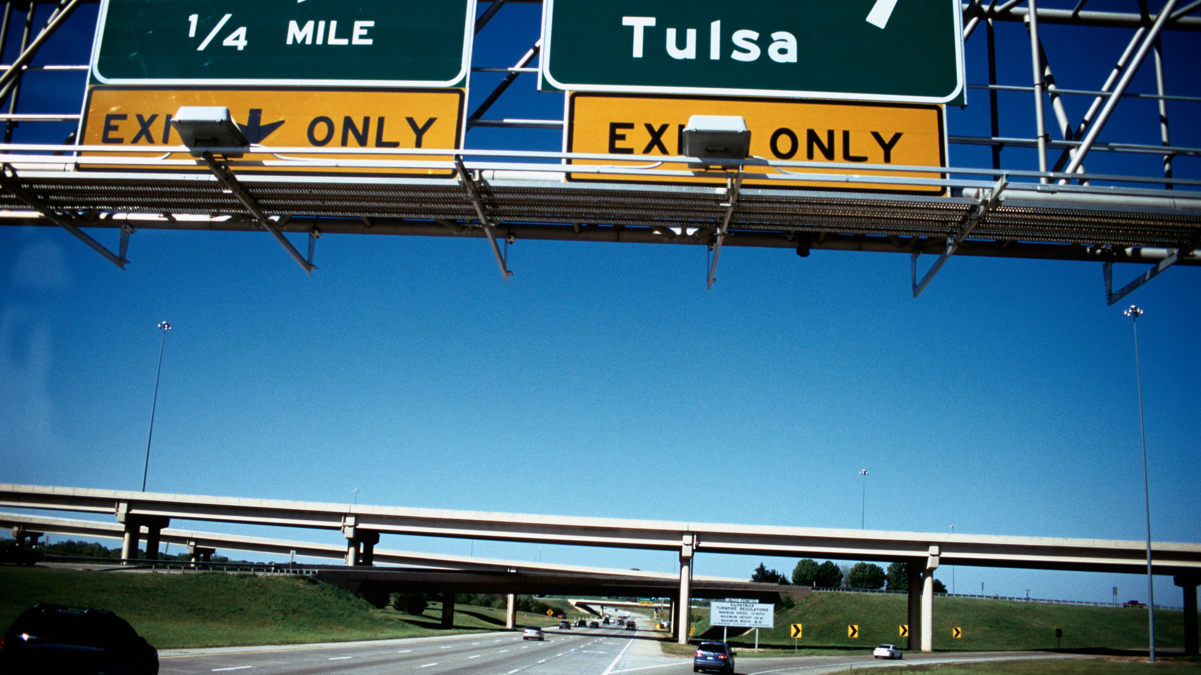 Oklahoma City Area Highways and Interstates