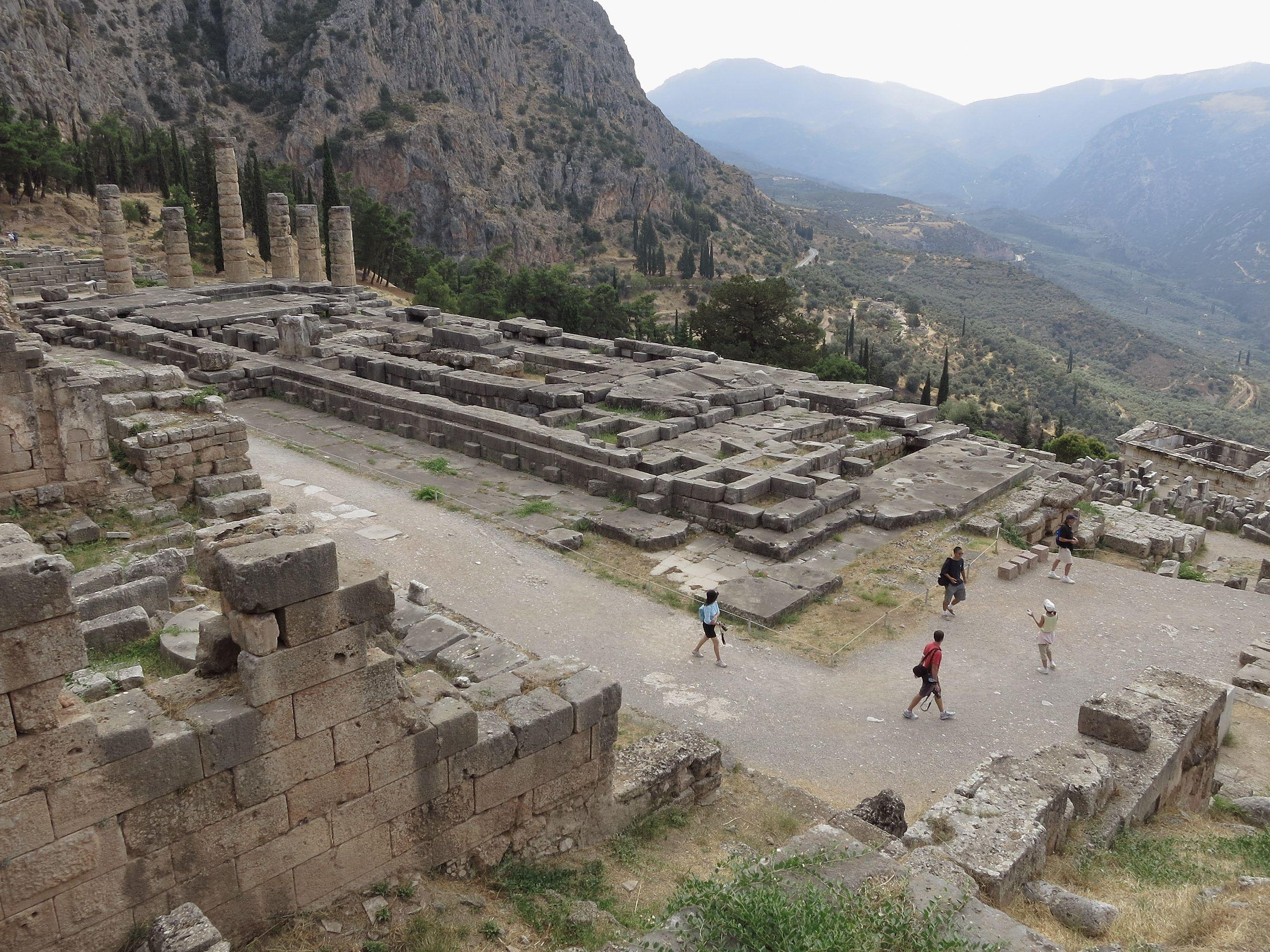 Delphi and the God Apollo