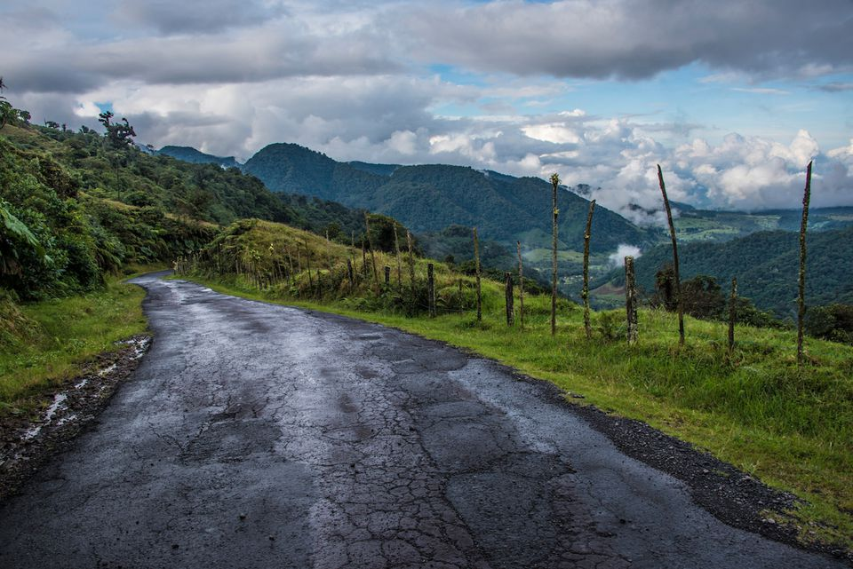 Road in Costa Rica