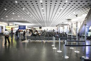 The international airport Benito Juarez