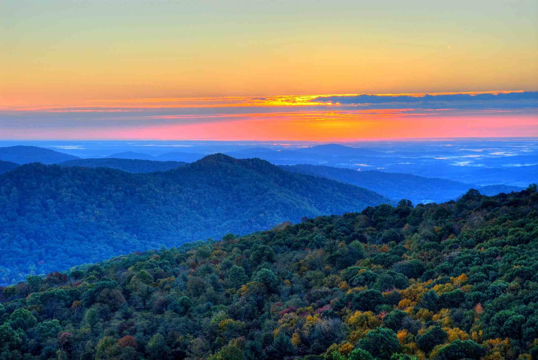 Parque nacional Shenandoah