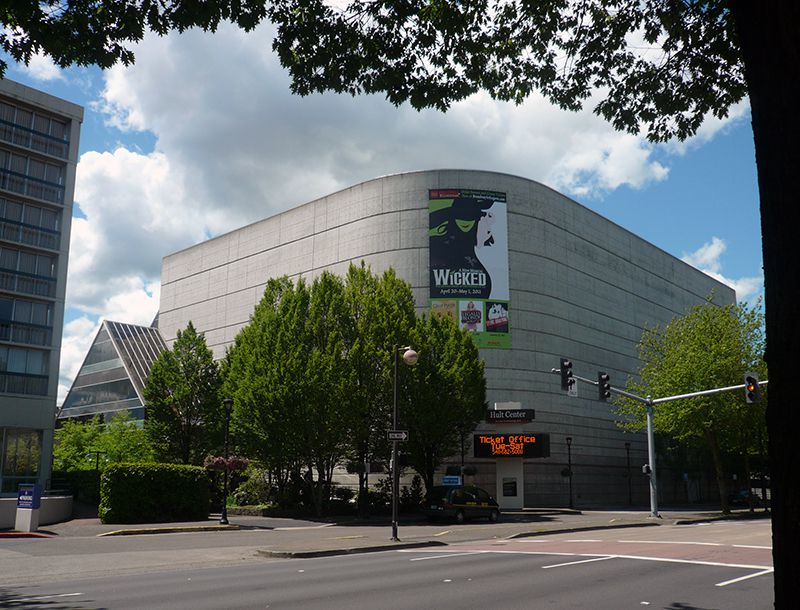 Hult Center for the Performing Arts in Eugene Oregon (Angela M. Brown)
