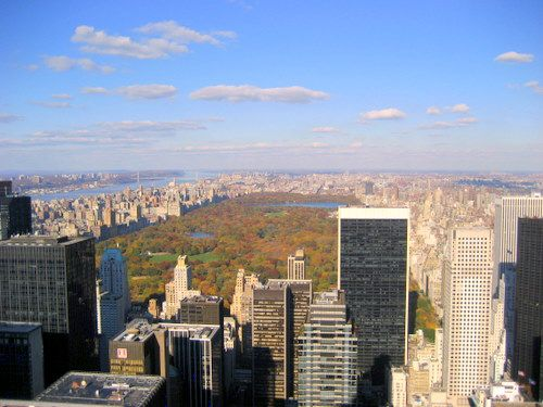 Photos Of New York Skyline From Top Of The Rock At Rockefeller Center
