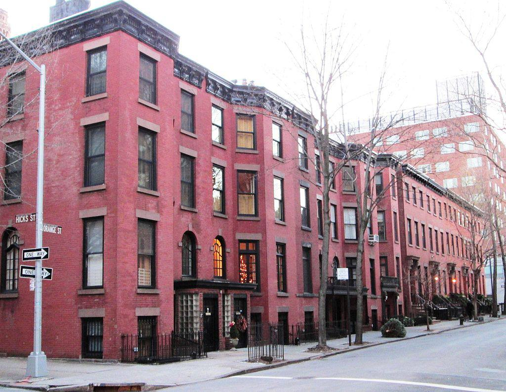 Victorian style buildings in Brooklyn Heights