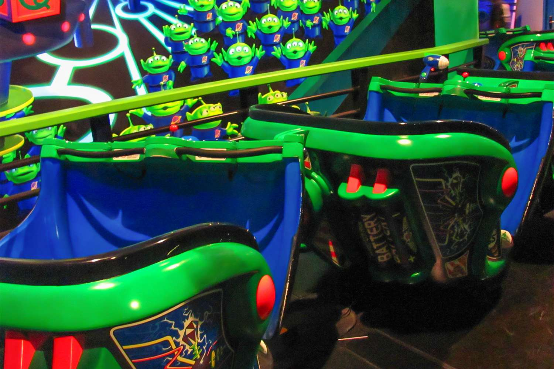 Buzz Lightyear Ride Vehicles