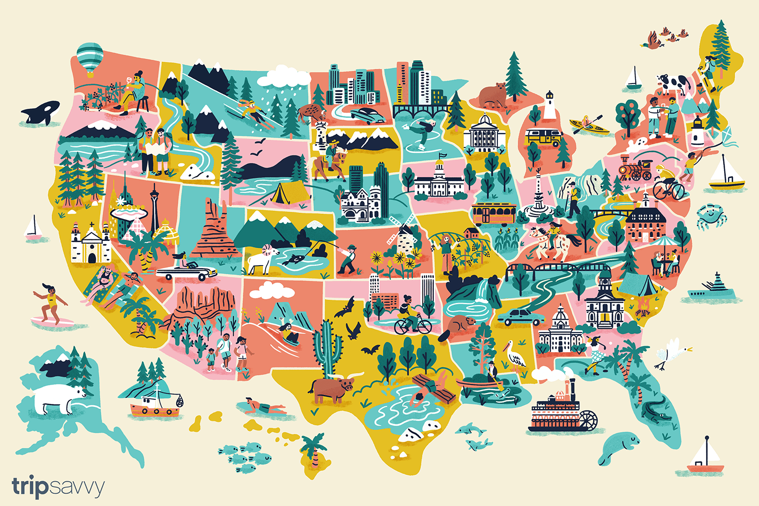 50 States, 50 Staycations: The Best Staycation in Every State