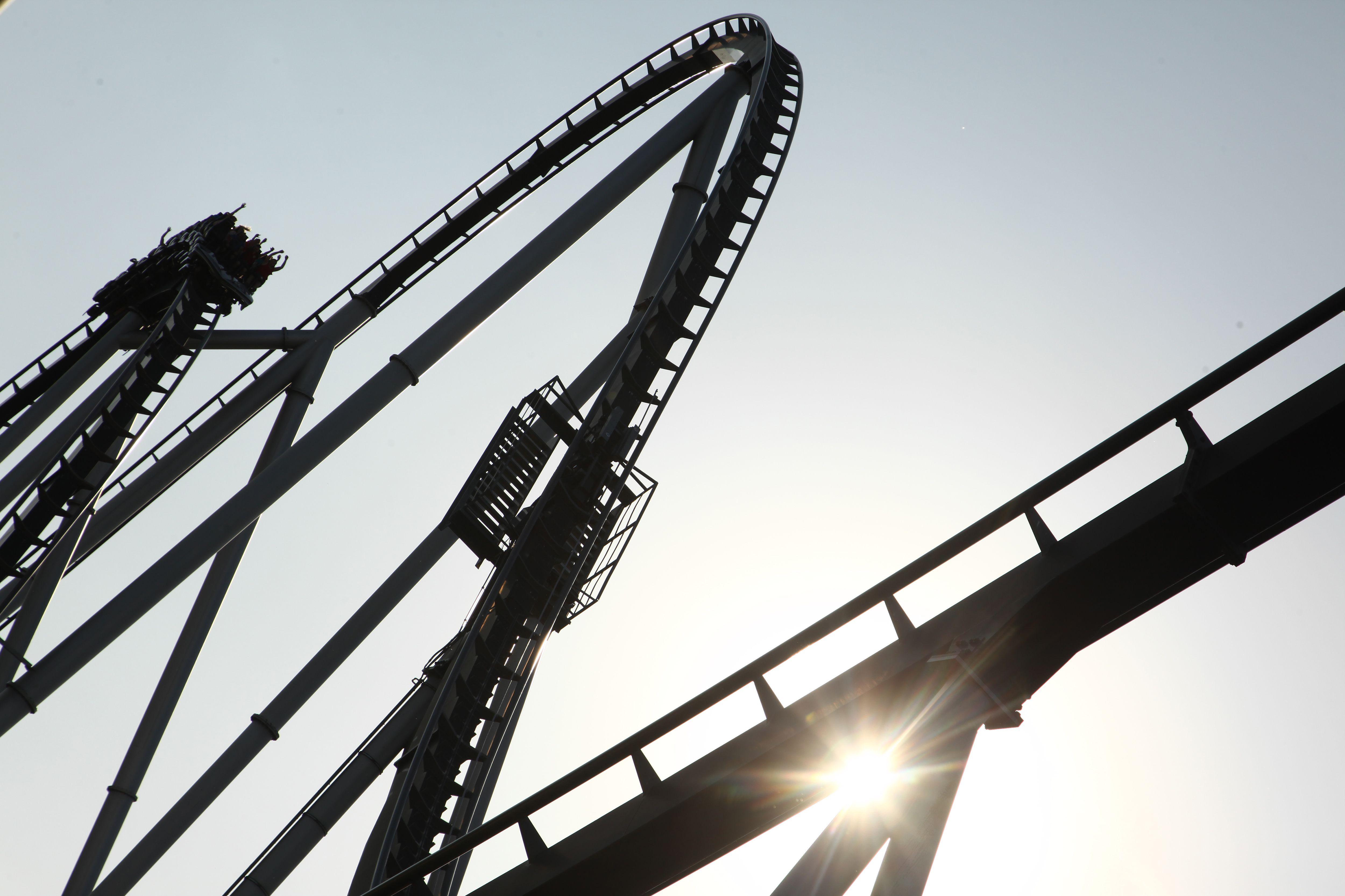EuropaPark roller coaster
