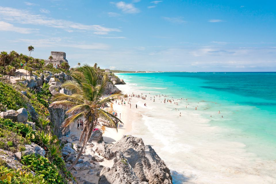 A view of Tulum