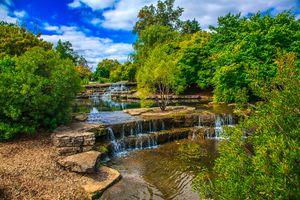 Columbus, Franklin Metropolitan Park in the summer