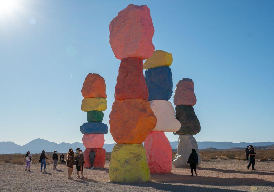 Seven Magic Mountains, Las Vegas