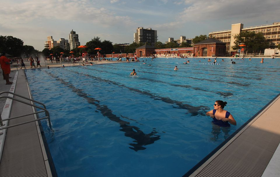 McCarren Park pool in Brooklyn