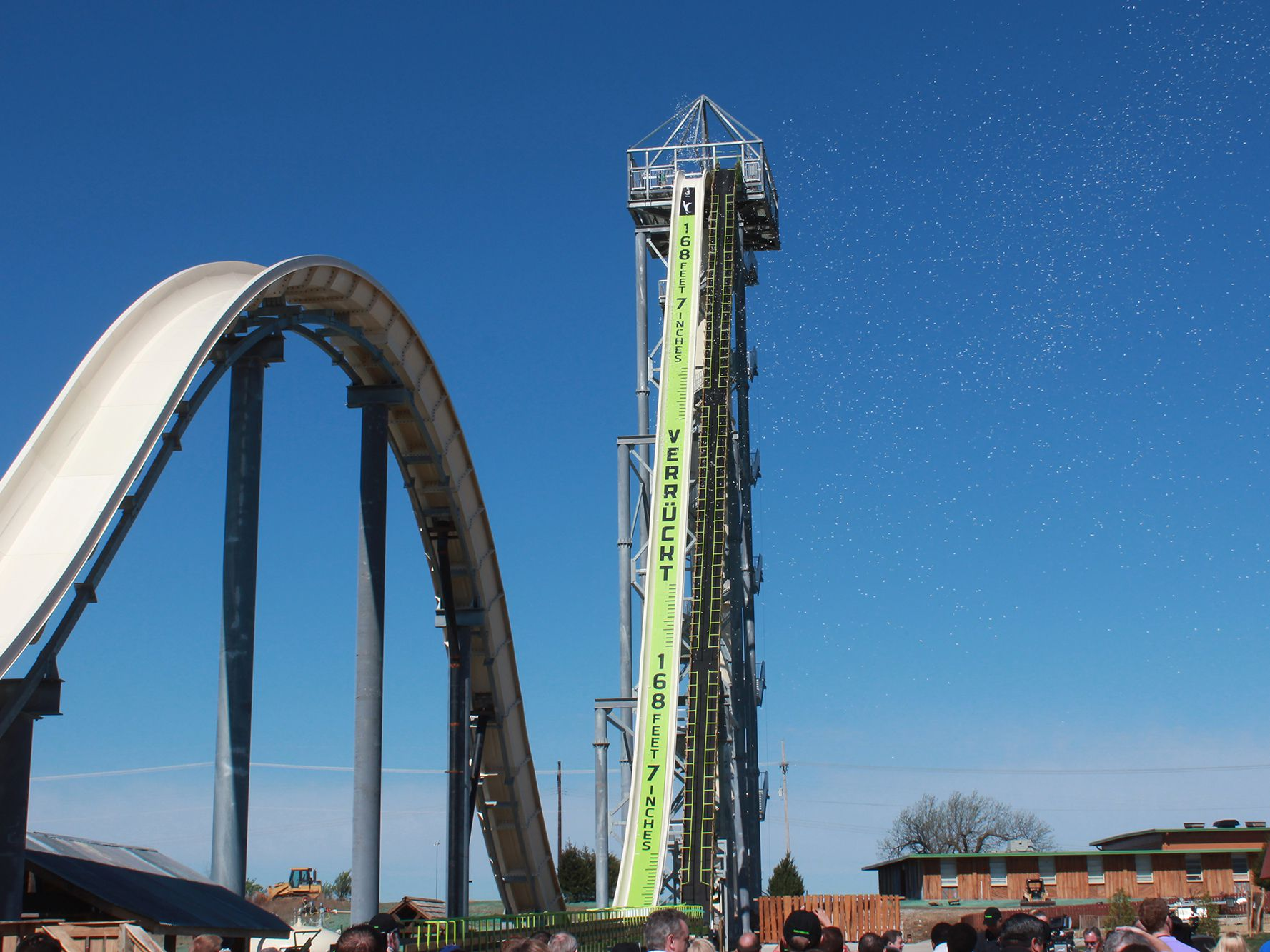 Verruckt - World's Tallest Water Slide Had Tragedy