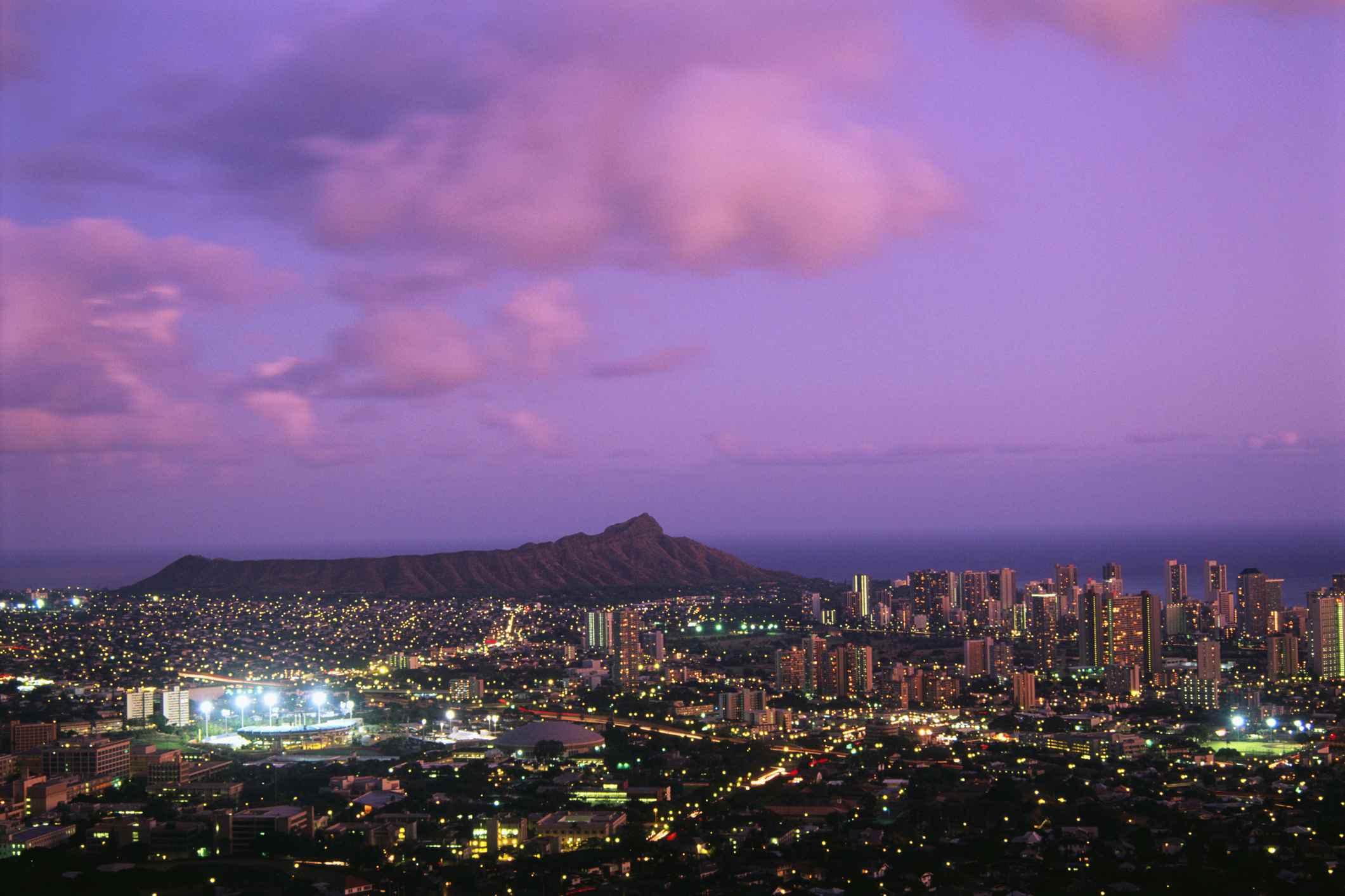 City Lights of Waikiki