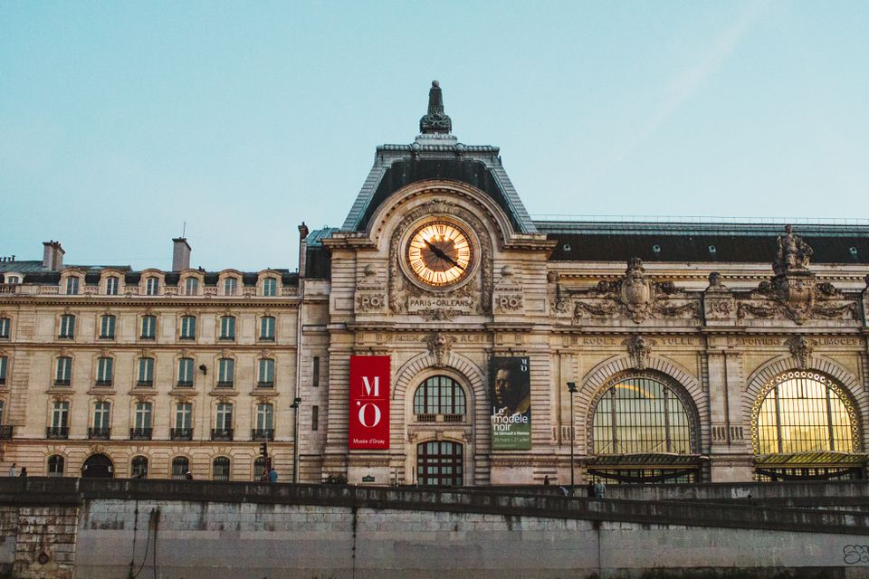 Front of Museum du Orsay