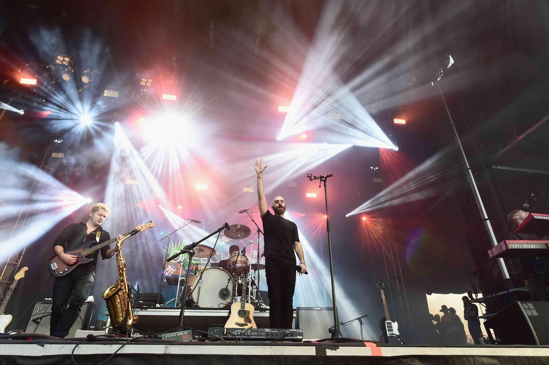 X Ambassador performs on stage at Okeechobee Music & Arts Festival,