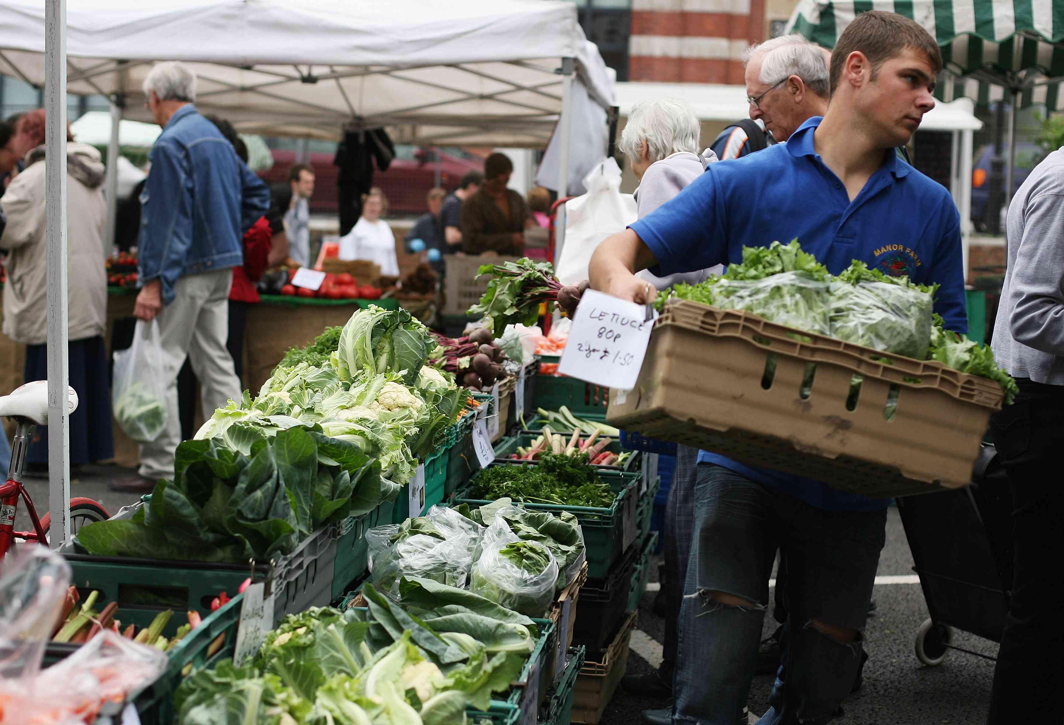London Farmers Markets