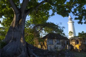 Negril Lighthouse, on the west end of Jamaica