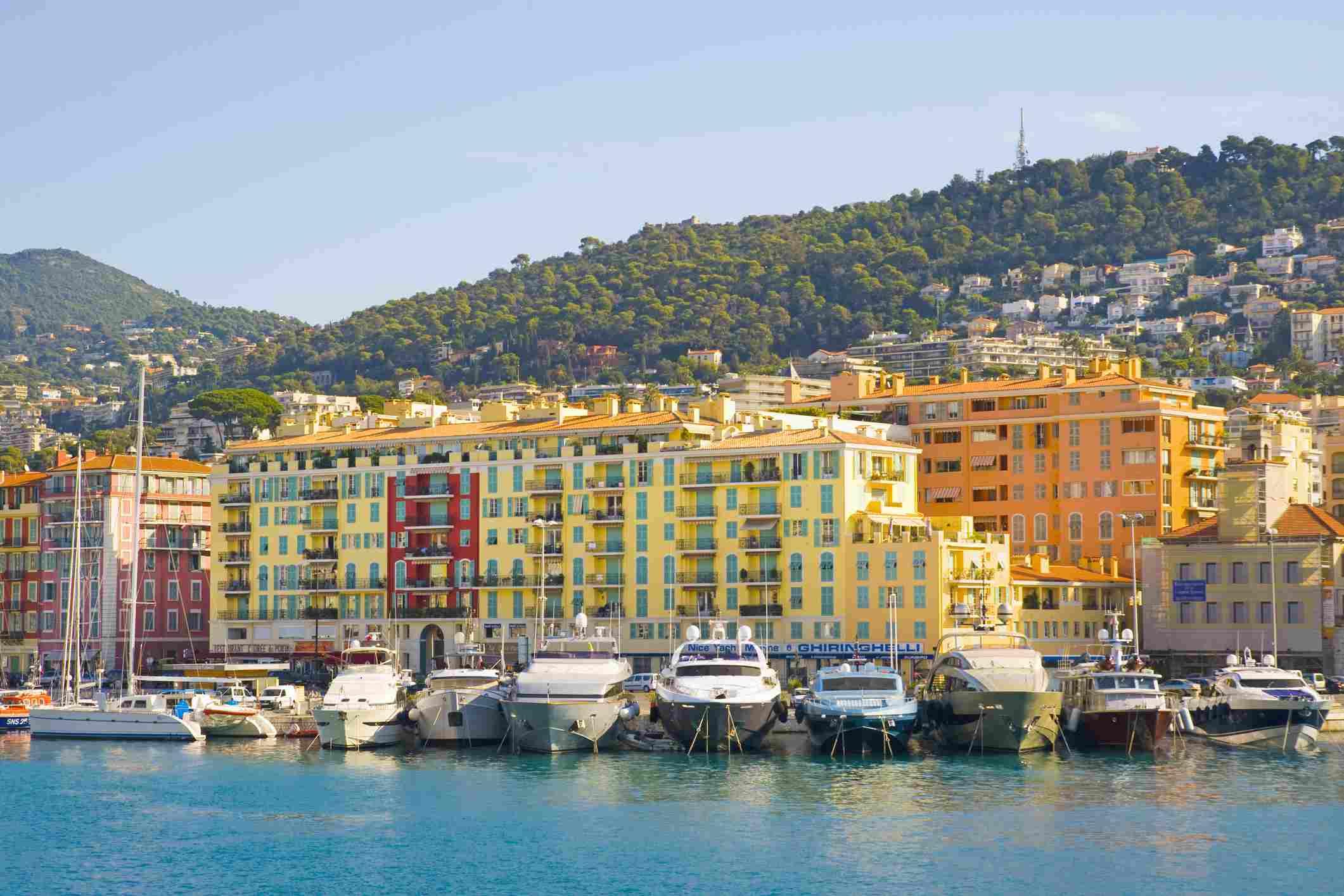 Nice Harbour, Cote d'Azur, Francia