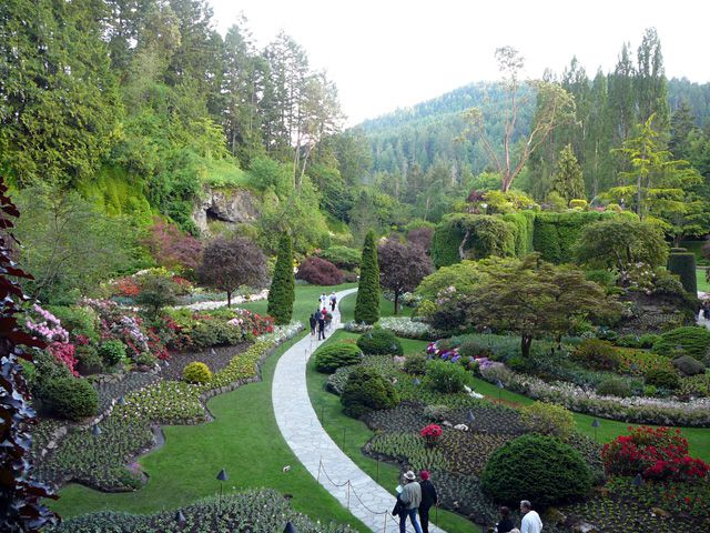 Pictures from Victoria\'s Butchart Gardens
