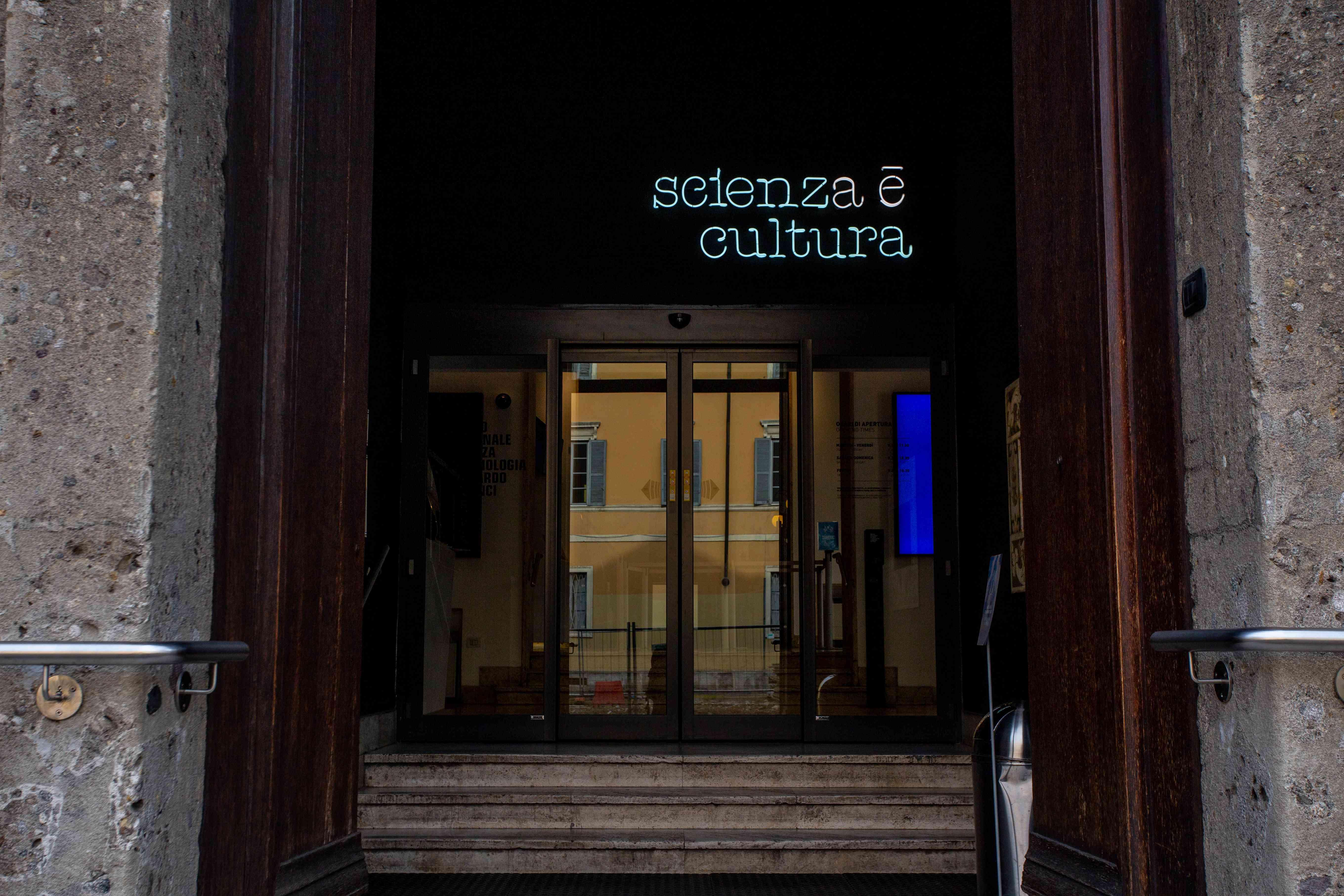 Leonardo da Vinci Science and Technology Museum in Milan