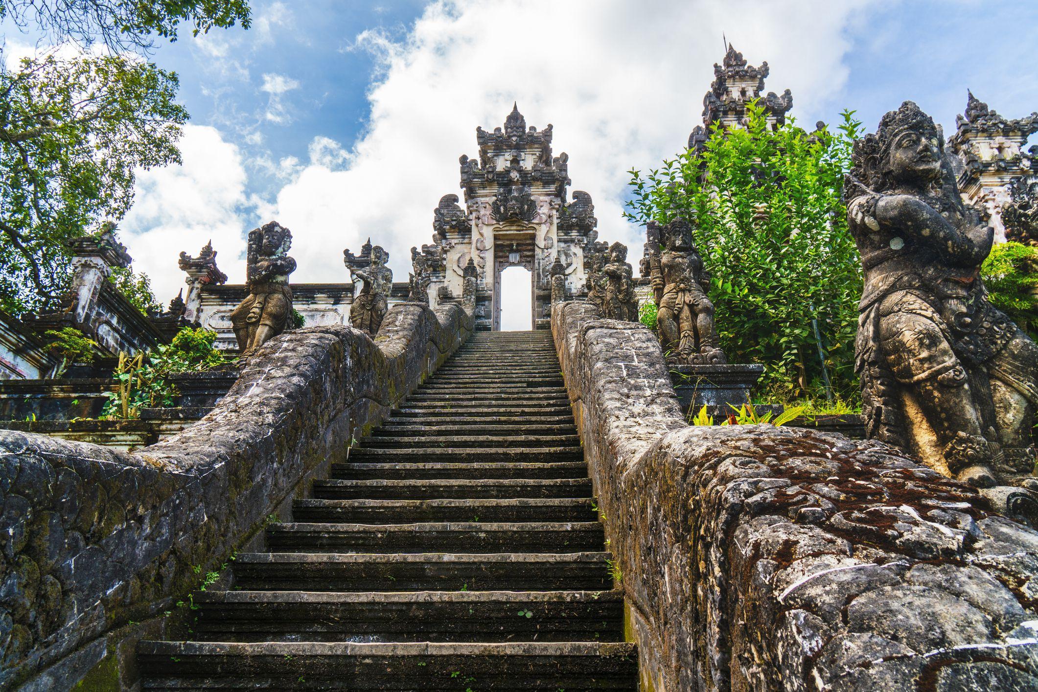 Pura Lempuyang Luhur, Gunung Lempuyang, Bali