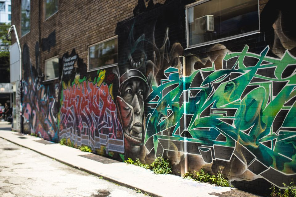 Graffiti Alley in Troronto