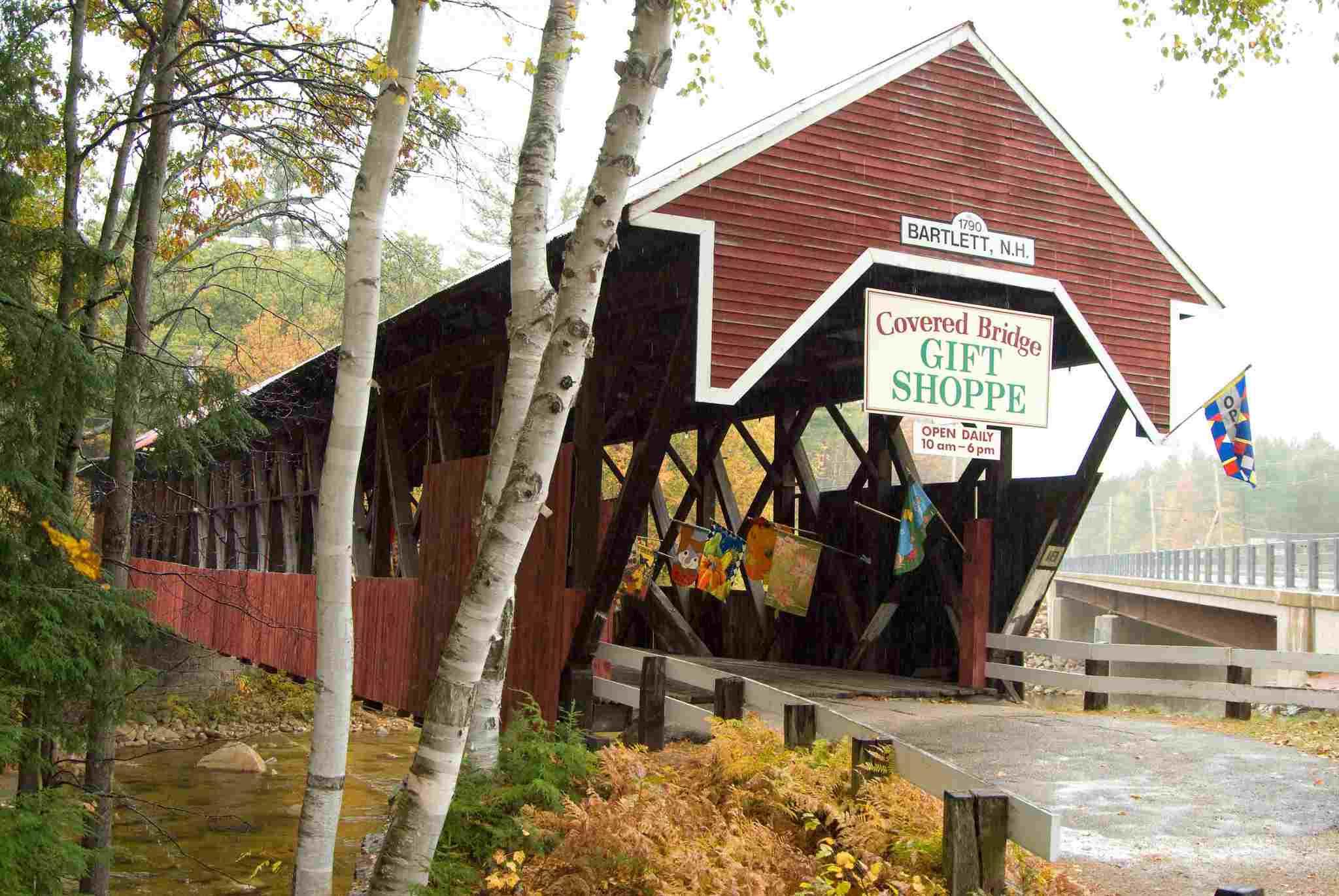 Covered Bridge Shoppe in NH