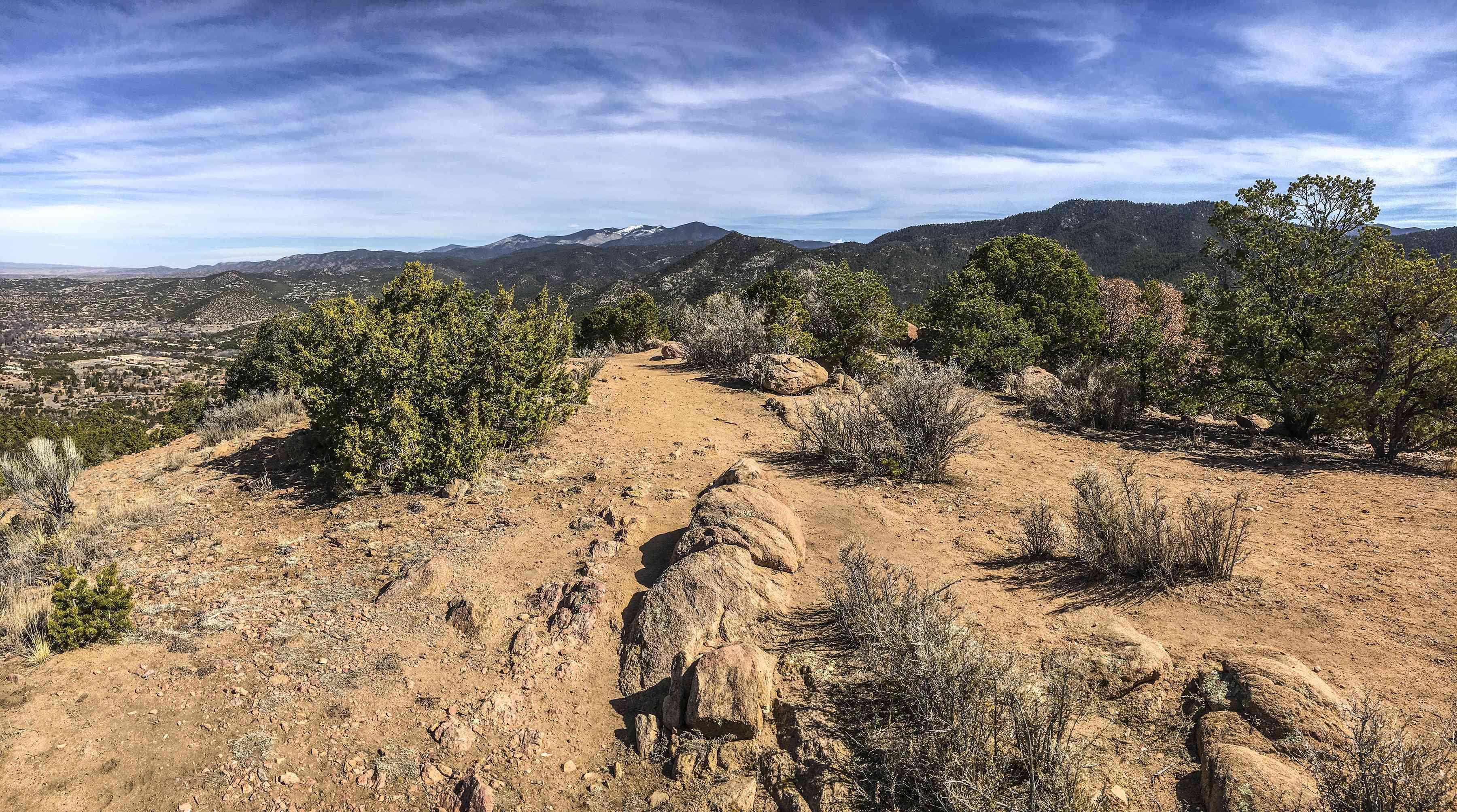 Above Santa Fe