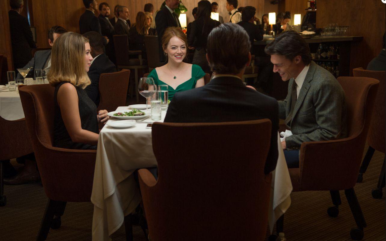 Restaurant scene at Jar in La La Land