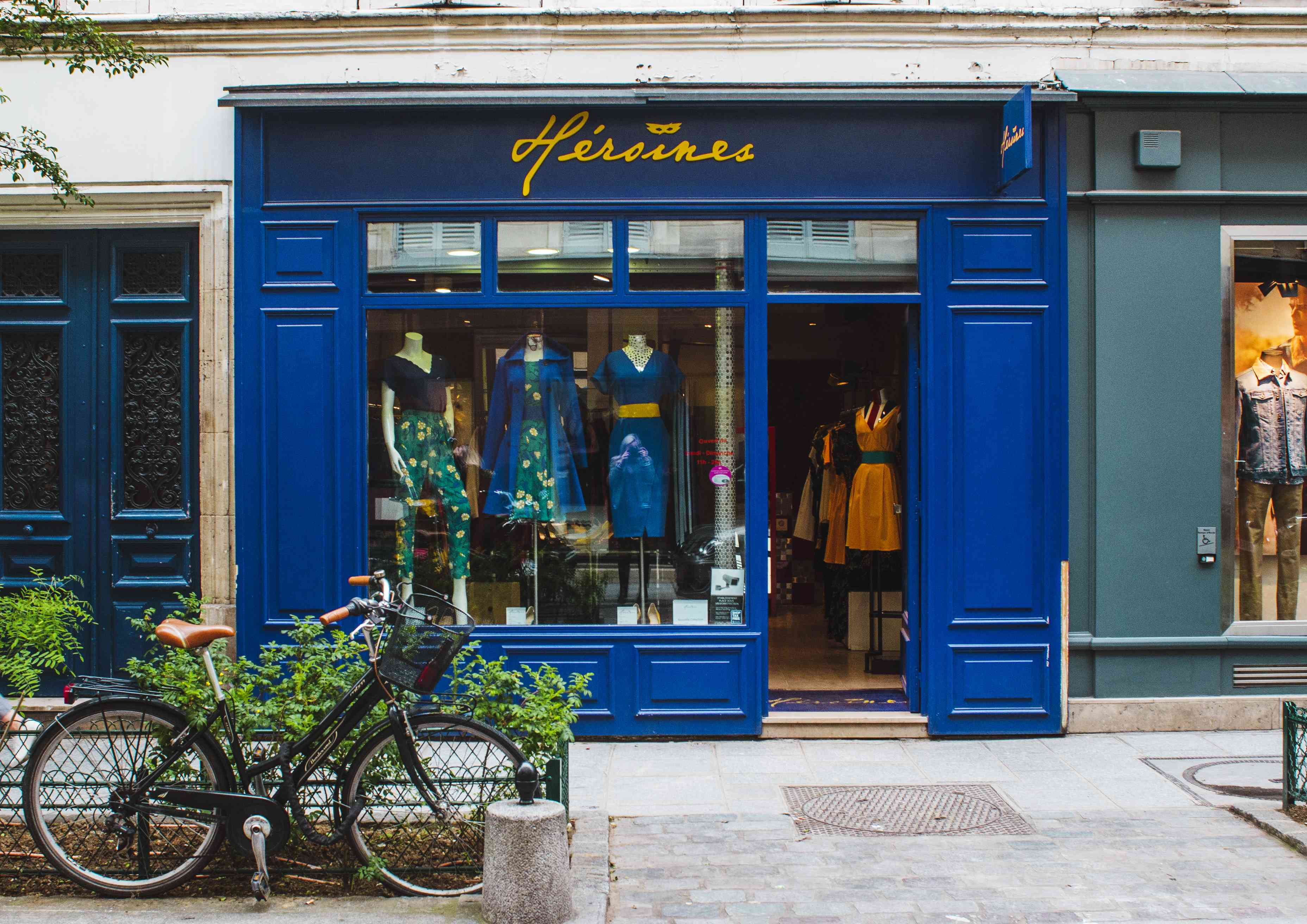 A boutique shop on Rue Rosiers