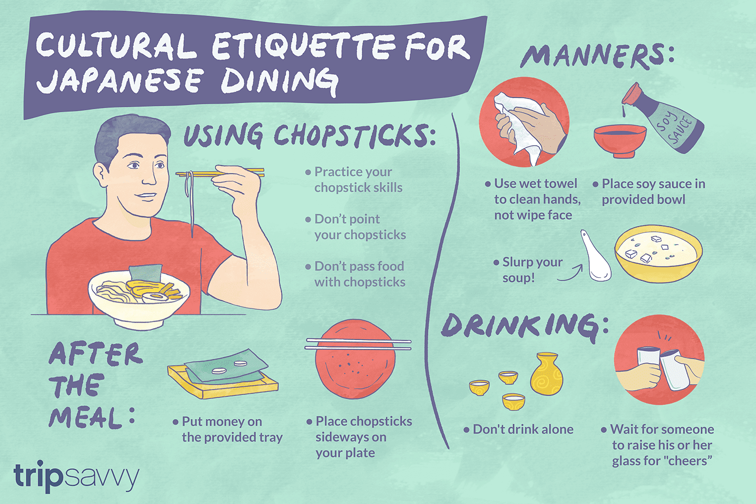 Cultural Etiquette For Japanese Dining