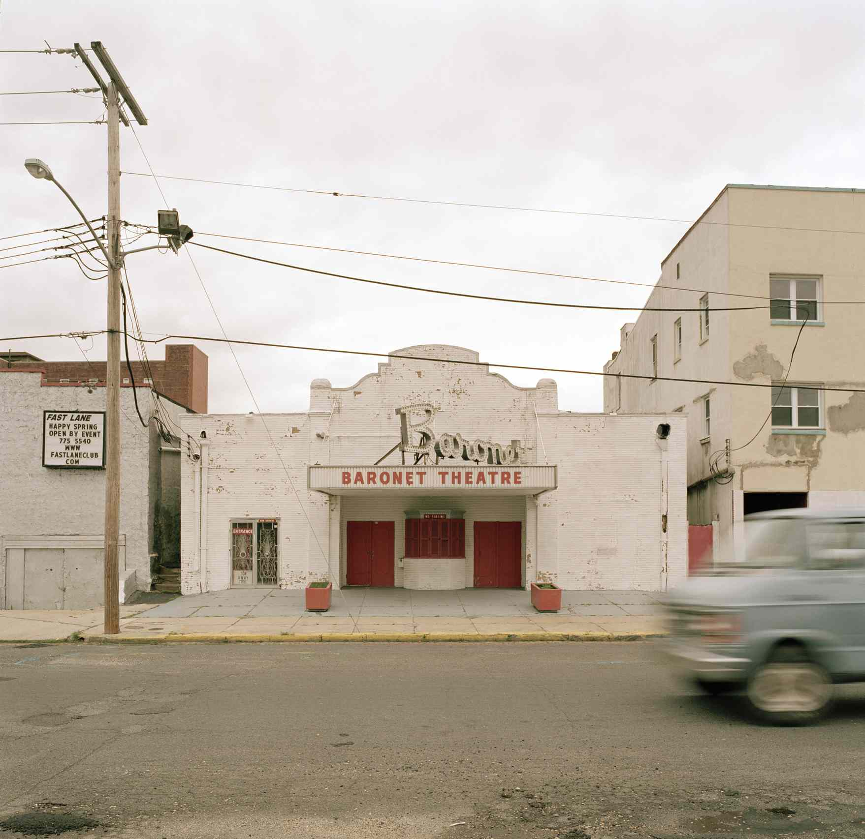 Baronet Theatre, Asbury Park, New Jersey, U.S.A.