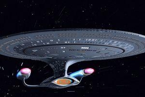 U.S.S. Enterprise Star Trek