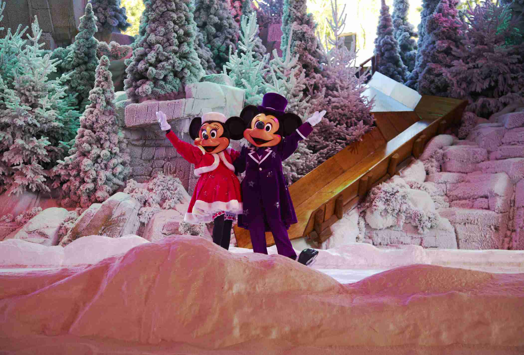Christmas at Disneyland Paris can be fun for the whole family