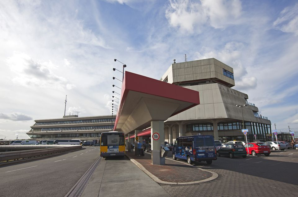 Main terminal at Berlin Tegel airport.