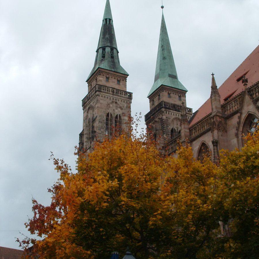 St. Lorenz Cathedral in Nuremberg