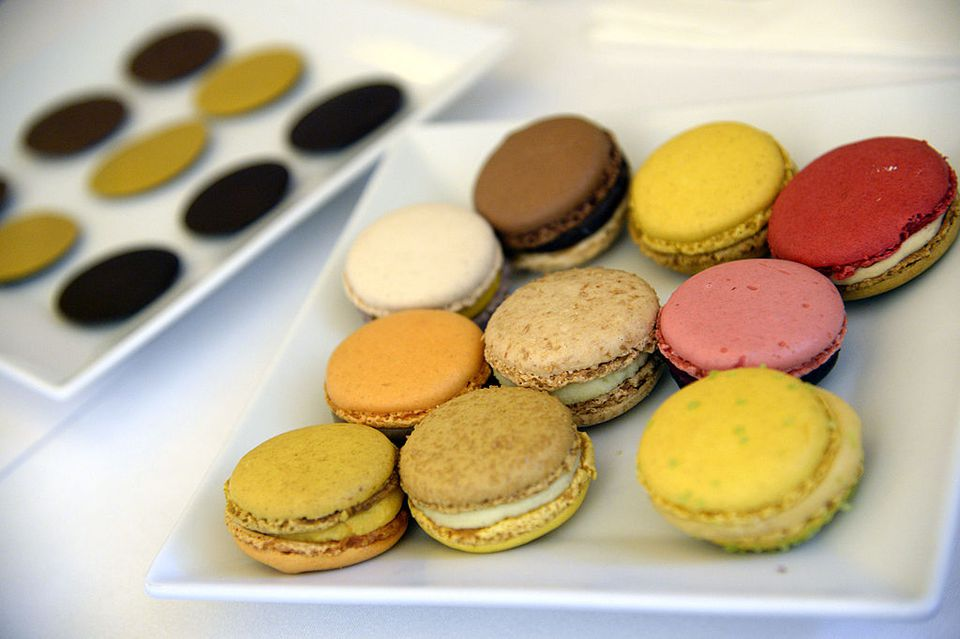 Macarons from Pierre Hermé/Getty Images