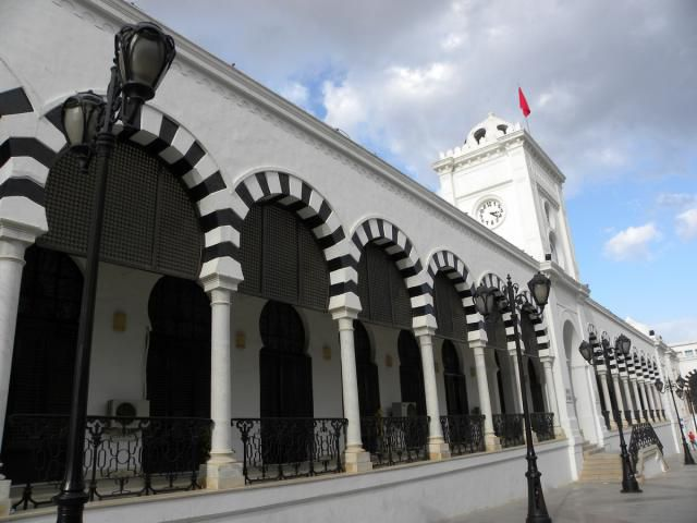 Tunisia Ministry of Finance in Tunis