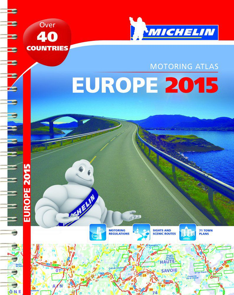 auto karta evrope michelin Top Five European Road Atlases and Maps auto karta evrope michelin