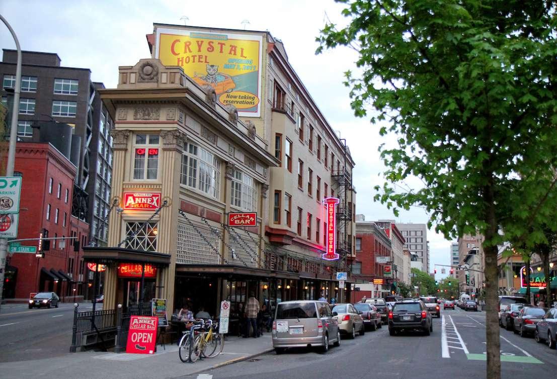 Crystal Hotel, Portland, Oregon