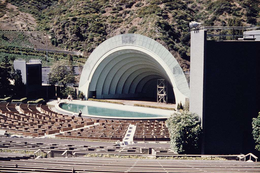 Hollywood Bowl in Hollywood Hills