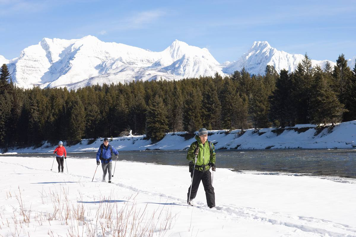 cross-country skiing, West Yellowstone