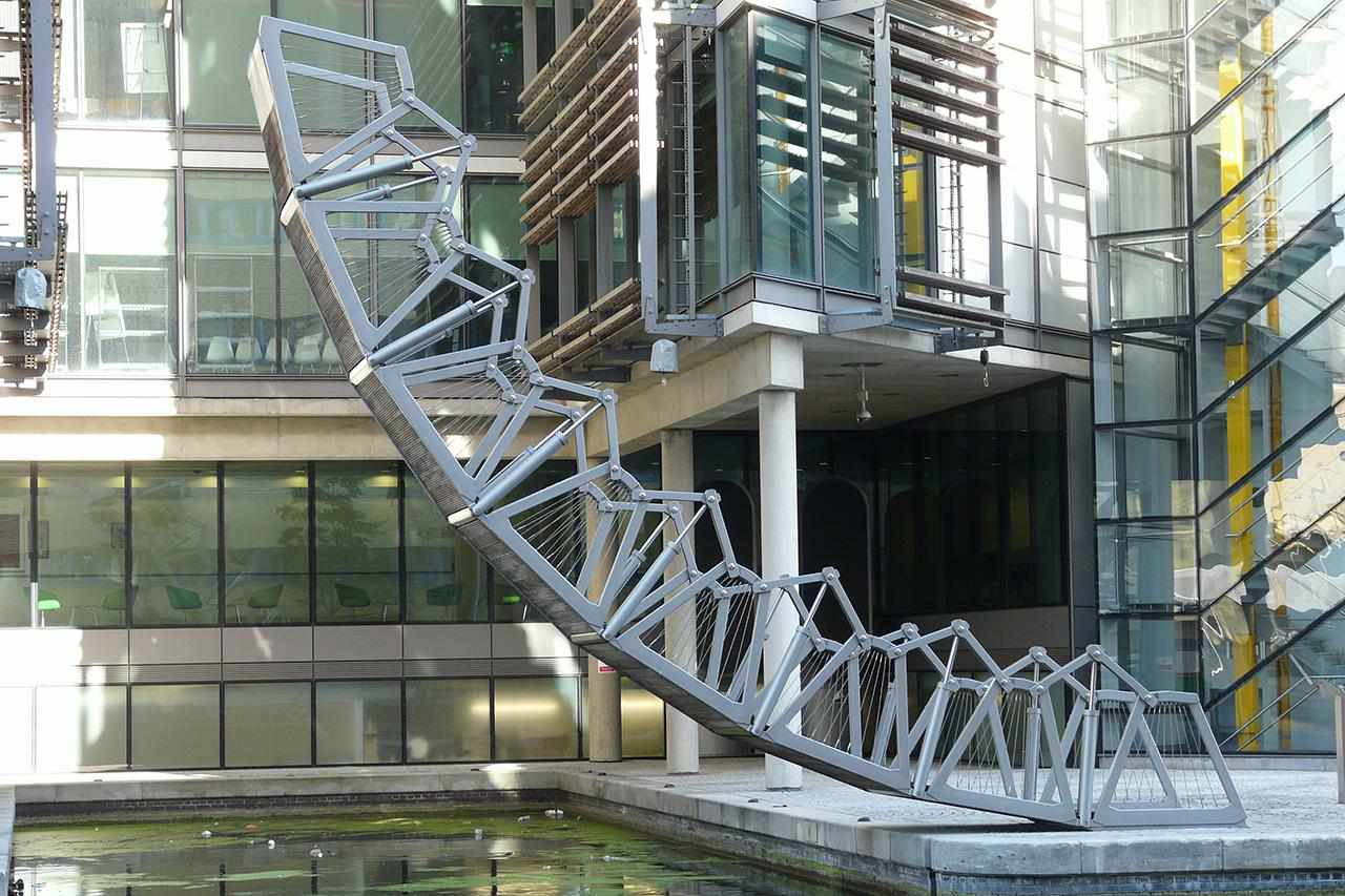 'The Rolling Bridge' de Thomas Heatherwick, Cuenca de Paddington