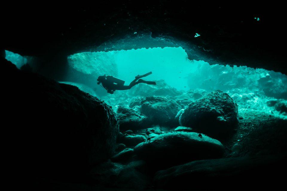 Scuba diver in Malaysia