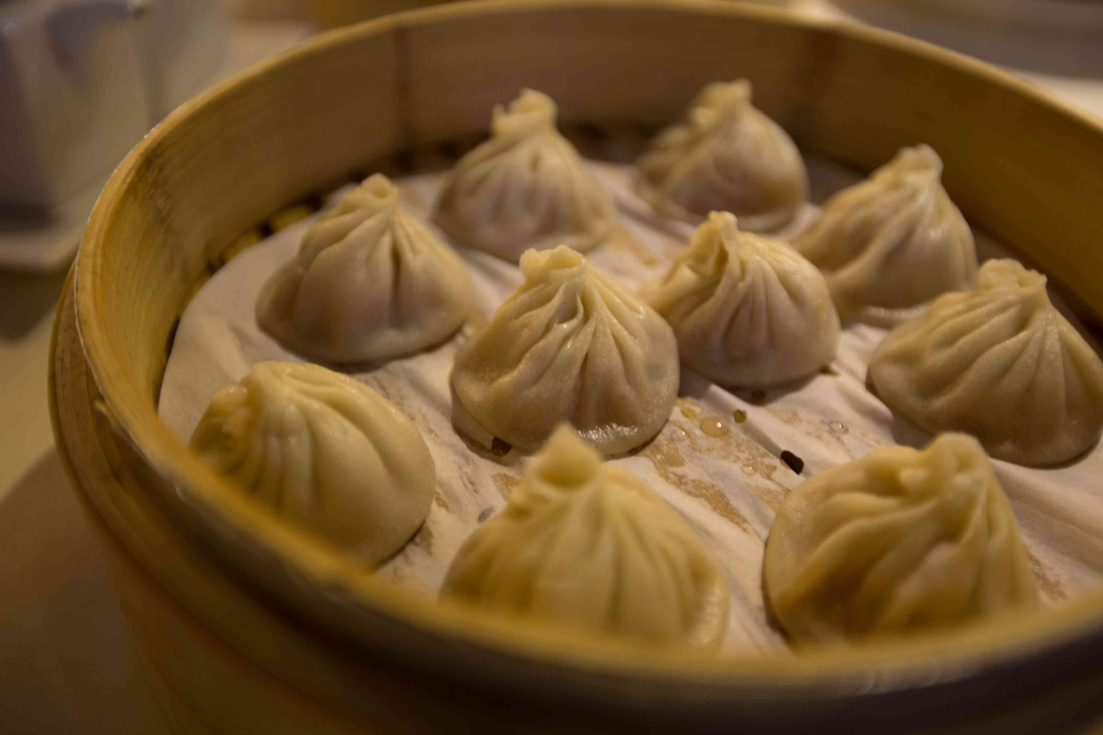 Traditional food image of chinese steam dumpling