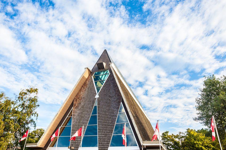 El Museo Marítimo de Vancouver en Vancouver, Columbia Británica, Canadá