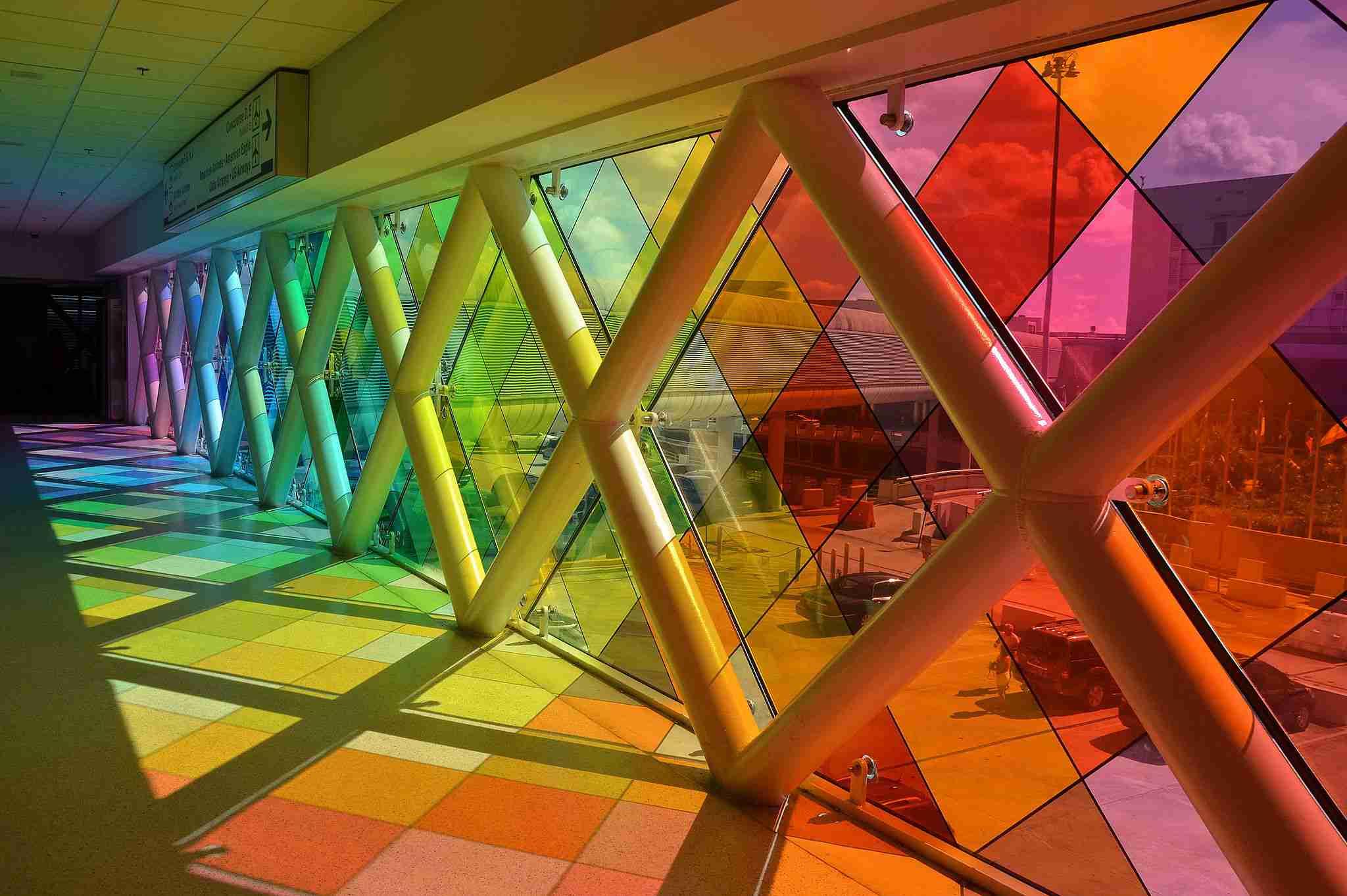 Rainbow Pathway, Miami International Airport